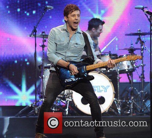 Danny Jones of McFly The Cheerios's Childline Concert...