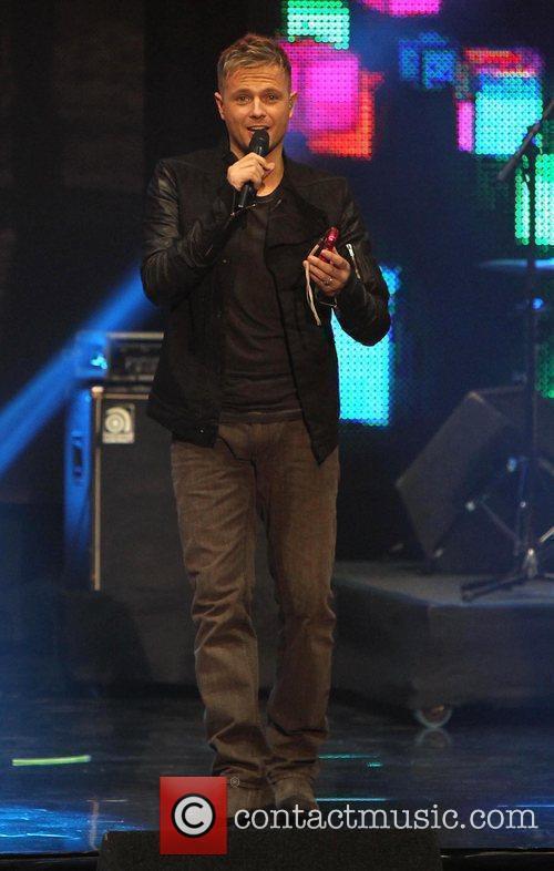 Nicky Byrne of Westlife The Cheerios's Childline Concert...