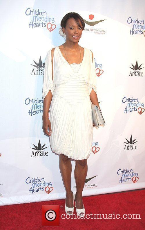 Aisha Tyler arrives at the Children Mending Hearts...