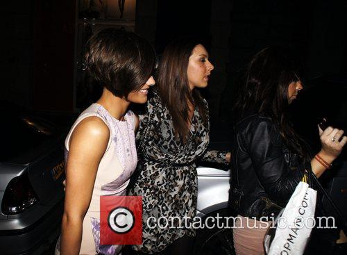 Arrives at Chinawhite club with friends