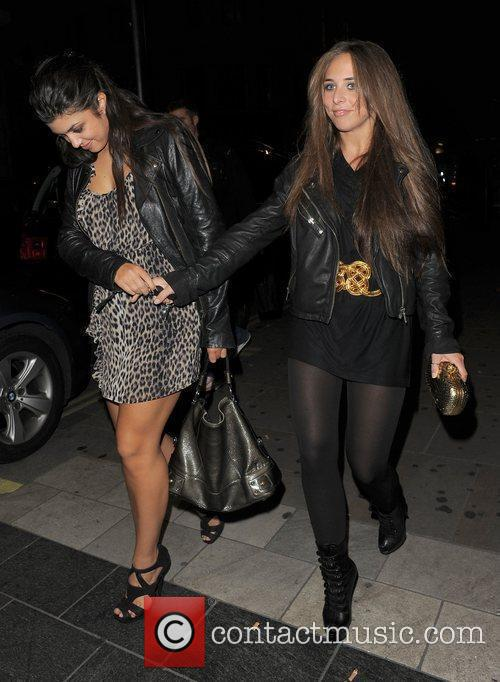 Chloe Green leaving Movida nightclub at 3.30am