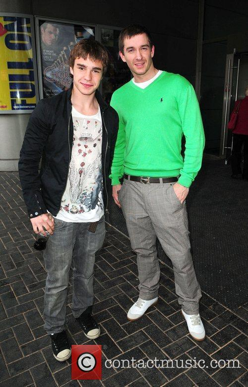 Nico Mirallegro and Anthony Quinlan