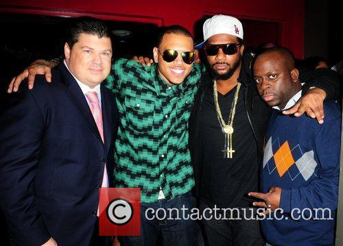 Chris Brown hosts the 400 Club at PLAY...