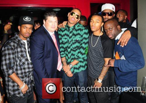 Guest, Bow Wow and Chris Brown 6