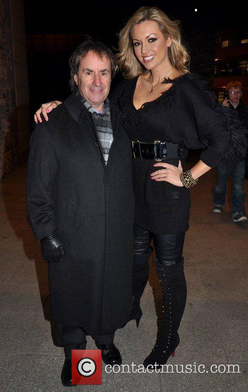 Chris De Burgh and Rosanna Davison 1