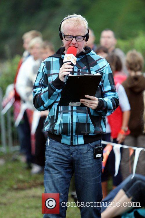 Hosts his BBC Radio 2 Breakfast Show, live...