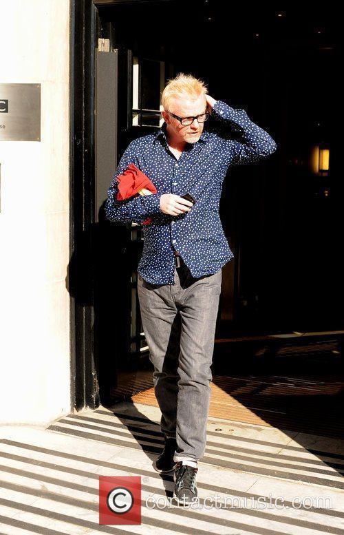 DJ Chris Evans leaving the BBC Radio Two...