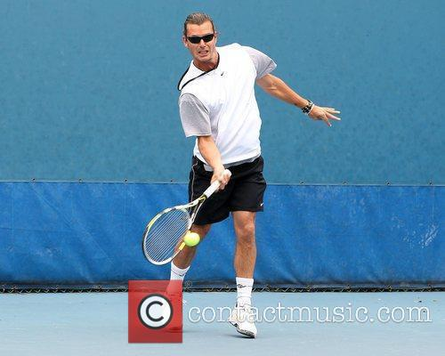 Gavin Rossdale and Chris Evert 15