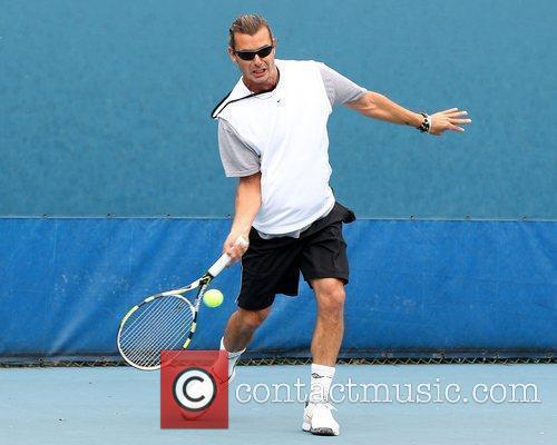 Gavin Rossdale and Chris Evert 10