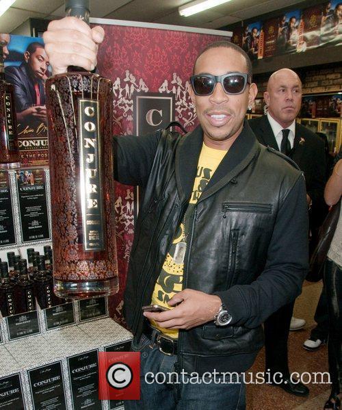 Chris 'Ludacris' Bridges hosts Conjure Cognac Bottle signing...