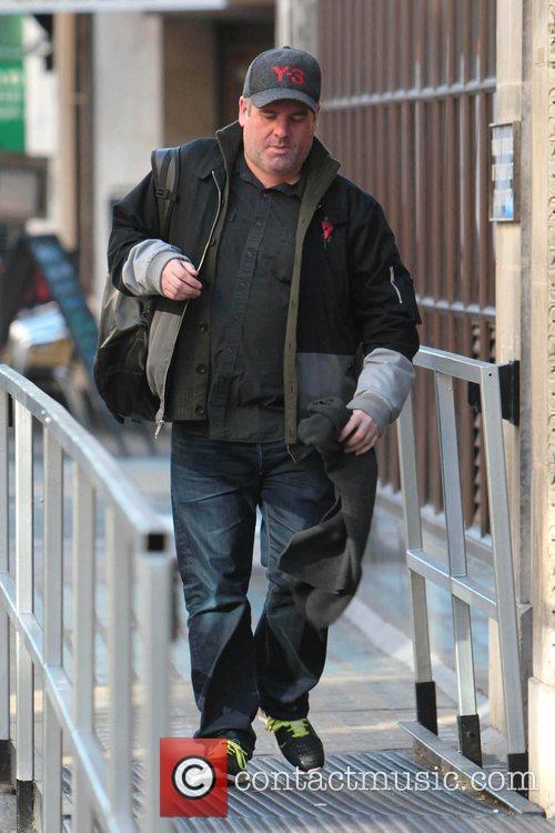 Chris Moyles at Radio One London, England