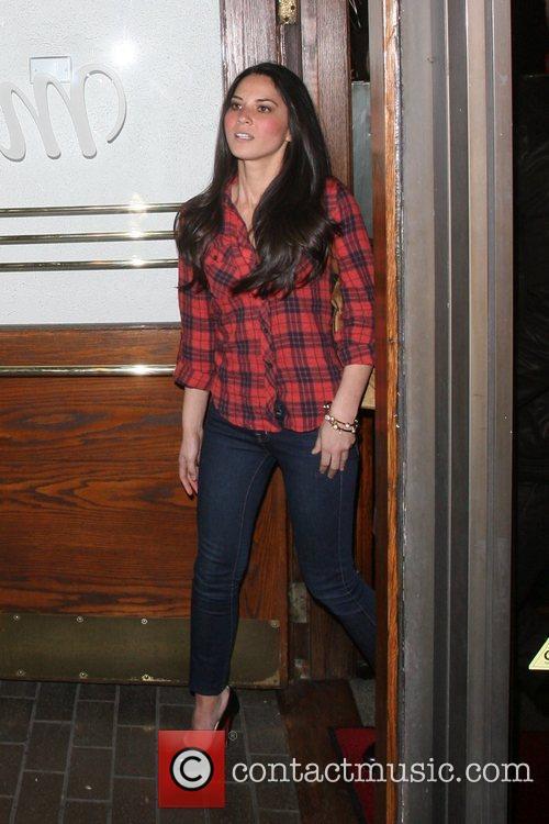Chris Pine and Girlfriend Olivia Munn 10