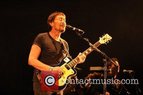 Chris Rea performs at the Hammersmith Apollo