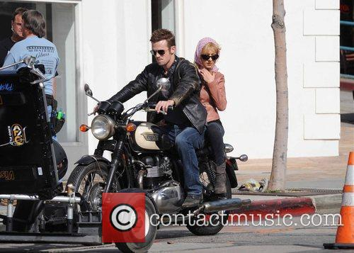 Christina Aguilera and Cam Gigandet 14