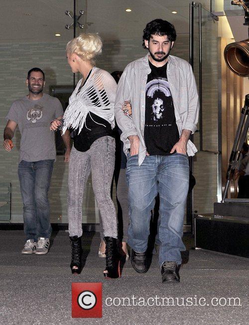 Christina Aguilera and Jordan 2