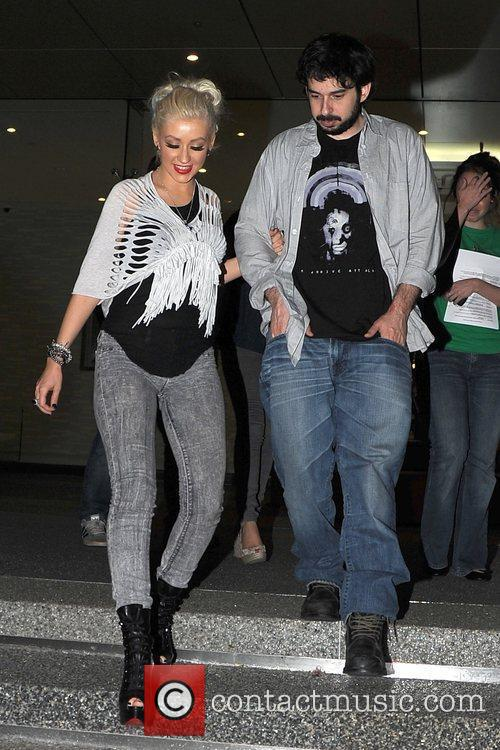 Christina Aguilera and Jordan 9