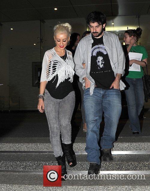 Christina Aguilera and Jordan 8
