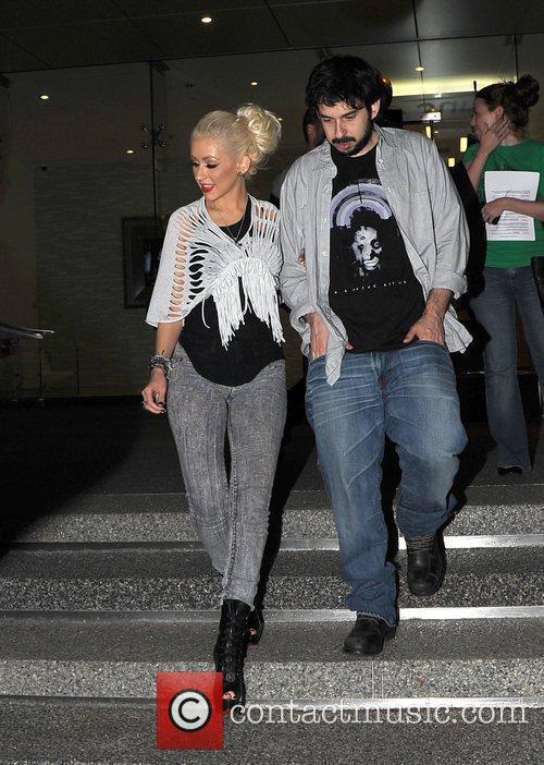 Christina Aguilera and Jordan 7