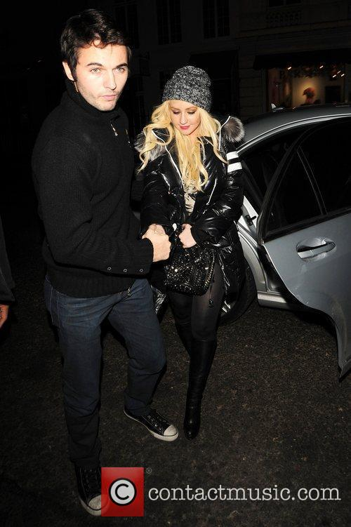 Matt Rutler and Christina Aguilera  Christina Aguilera...