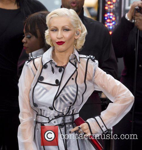 Christina Aguilera and Cbs 5