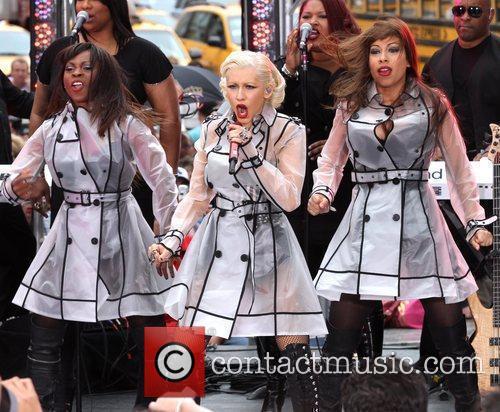 Christina Aguilera and Cbs 3