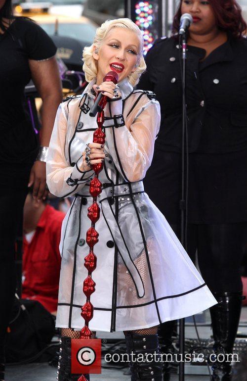 Christina Aguilera and Cbs 11