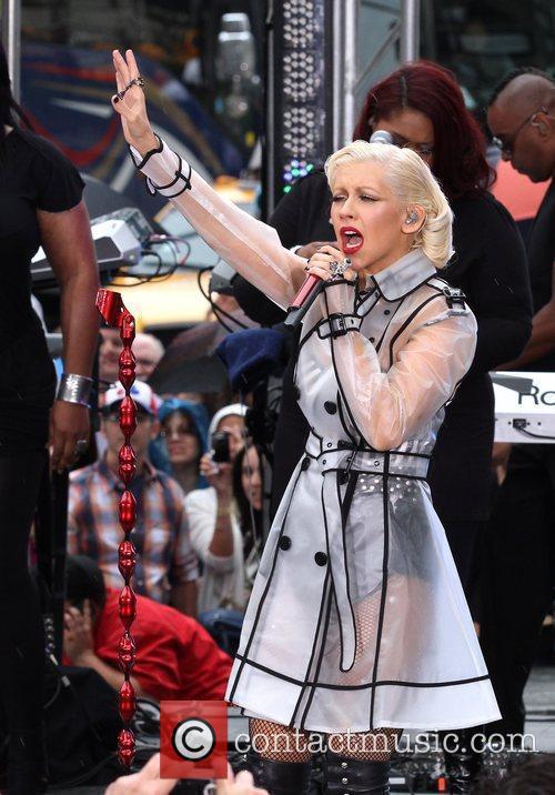 Christina Aguilera and CBS 12