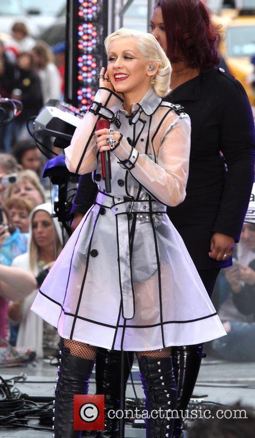 Christina Aguilera and Cbs 8