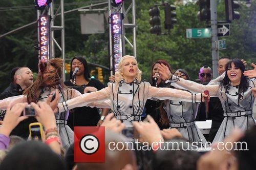 Christina Aguilera and CBS 57