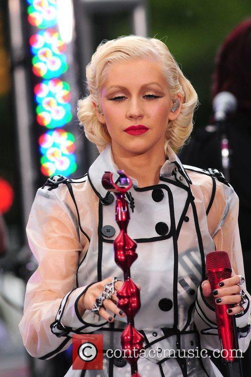 Christina Aguilera and CBS 24