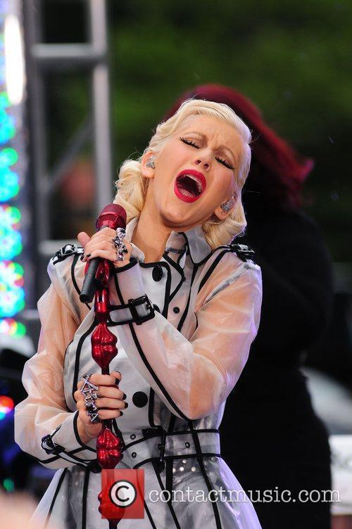 Christina Aguilera and CBS 20