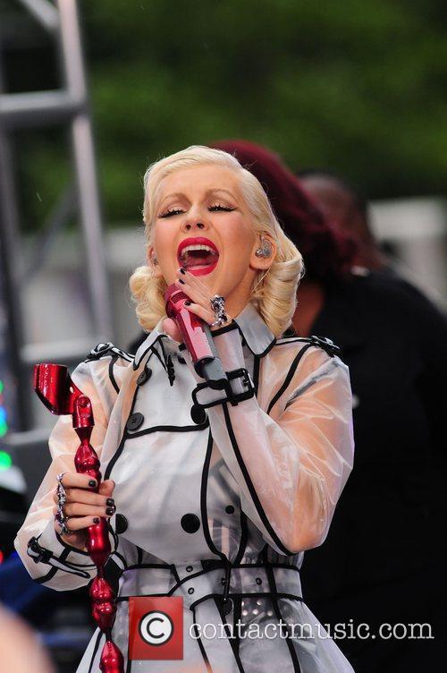 Christina Aguilera and CBS 41