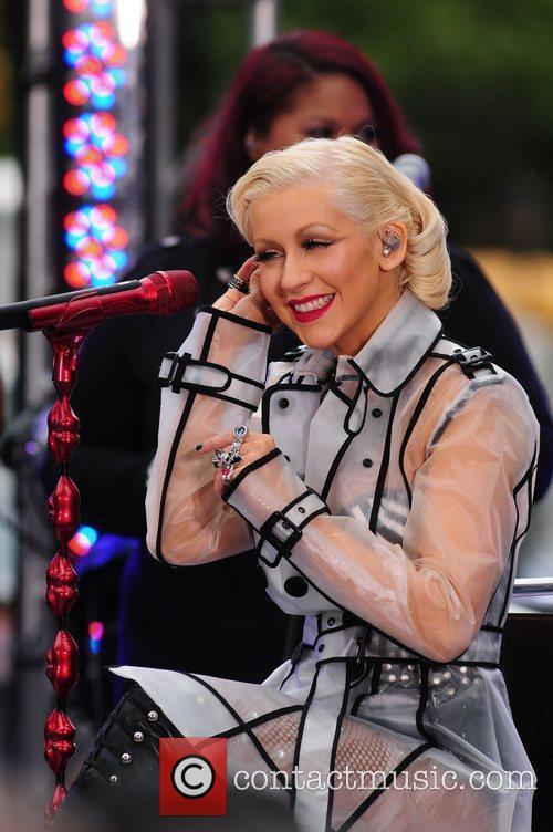 Christina Aguilera and CBS 31