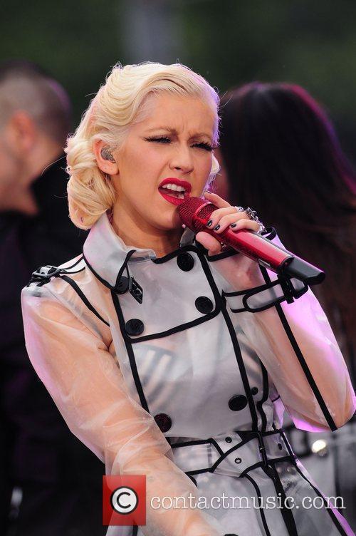 Christina Aguilera and CBS 30