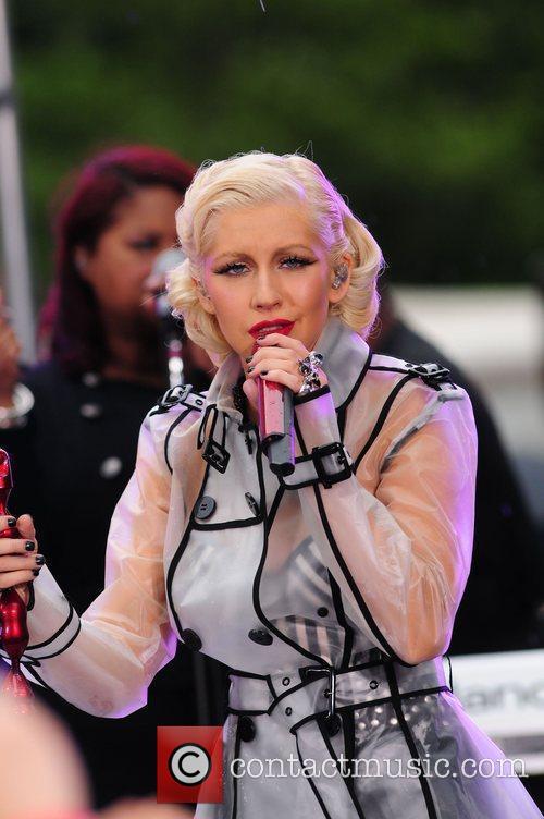 Christina Aguilera and CBS 42
