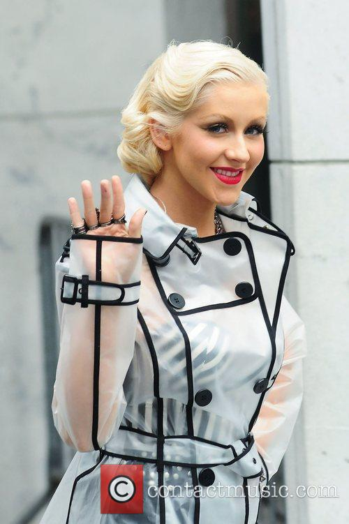 Christina Aguilera and CBS 38