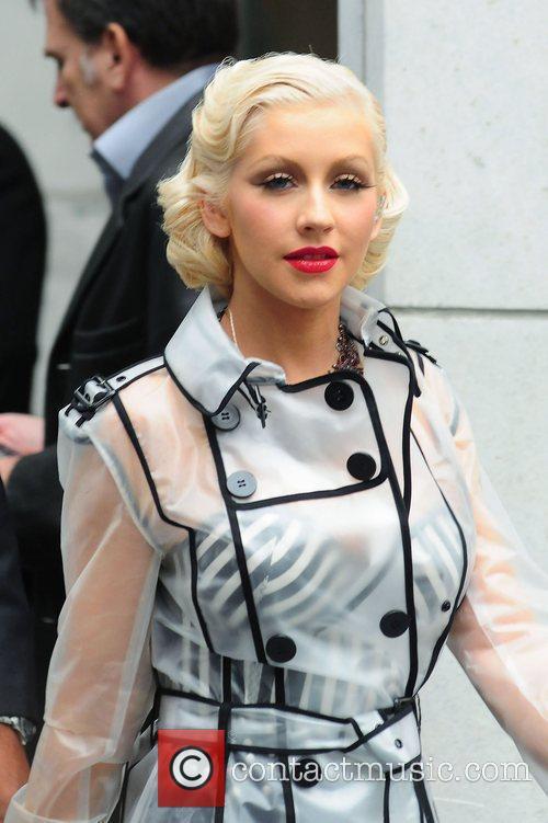 Christina Aguilera and CBS 50
