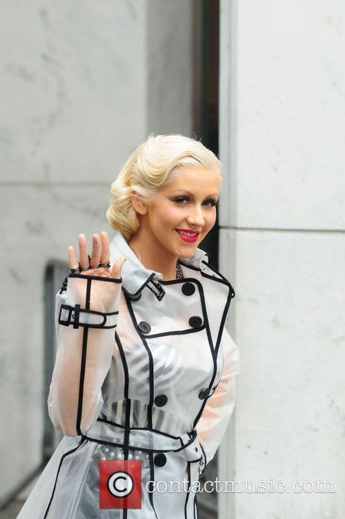 Christina Aguilera and CBS 48