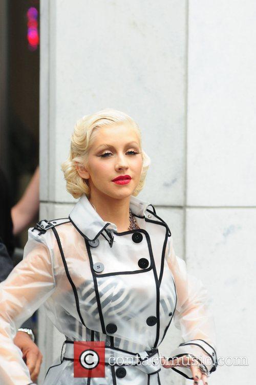 Christina Aguilera and CBS 26