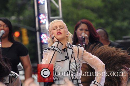 Christina Aguilera and CBS 55