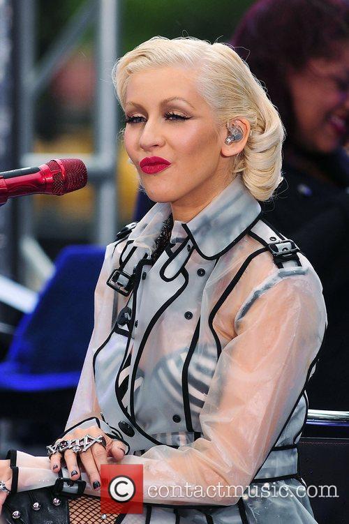 Christina Aguilera and CBS 58
