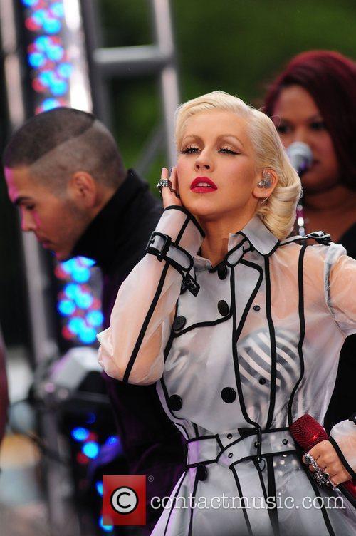 Christina Aguilera and CBS 49