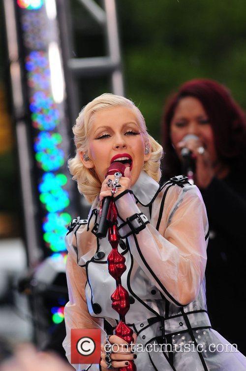 Christina Aguilera and CBS 46