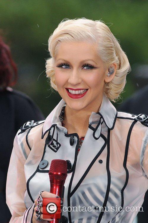Christina Aguilera and CBS 22
