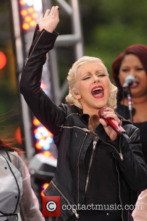 Christina Aguilera and CBS 61