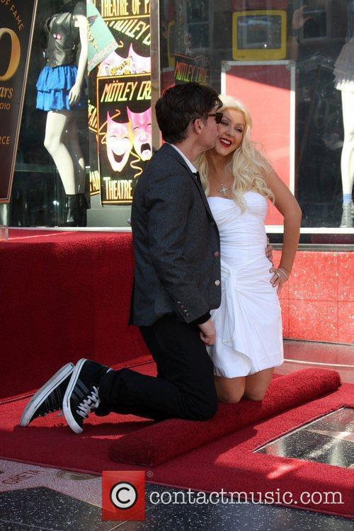 Christina Aguilera, Star On The Hollywood Walk Of Fame, Walk Of Fame