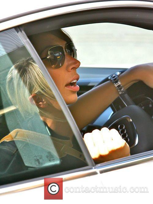 *Christine Bleakley clocked up the miles in her...