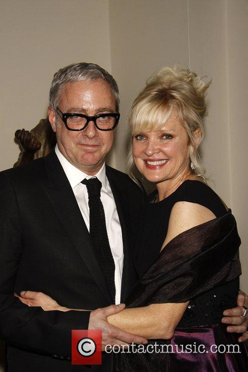Scott Wittman and Christine Ebersole The opening night...
