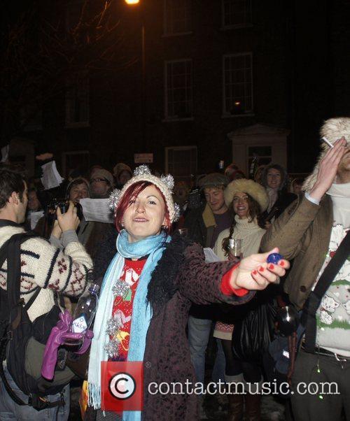 'Operation Christmas Carol' Flashmob organized by the Fun...