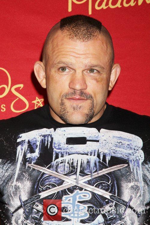UFC legend Chuck Liddell wax figure unveiling held...